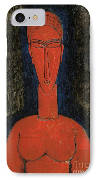 Red Bust, Caryatid, 1913 IPhone Case