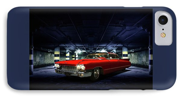 Red Caddie IPhone Case by Steven Agius