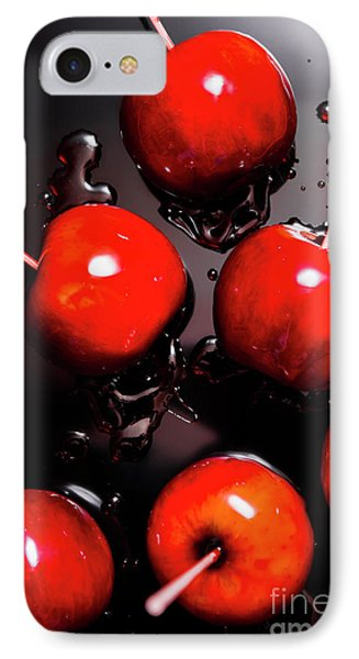 Red Candy Apples Or Apple Taffy IPhone Case