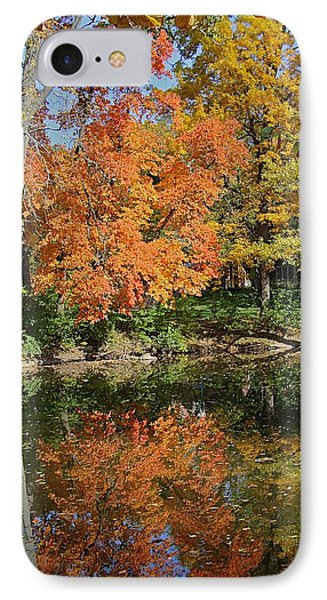 Red Cedar Banks IPhone Case by Joseph Yarbrough