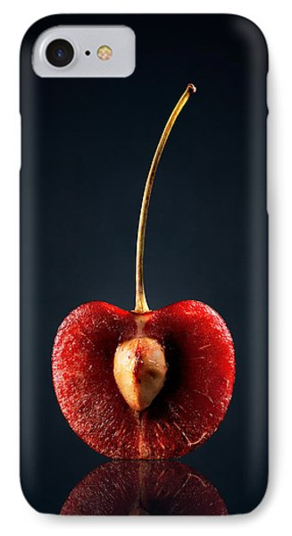 Fruits iPhone 7 Case - Red Cherry Still Life by Johan Swanepoel