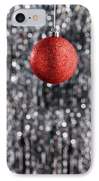 IPhone Case featuring the photograph Red Christmas  by Ulrich Schade