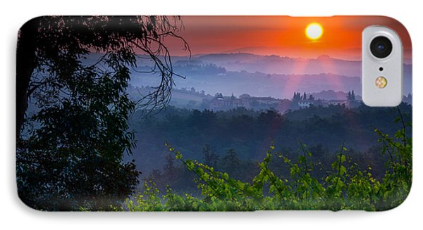Red Dawn IPhone Case by Inge Johnsson