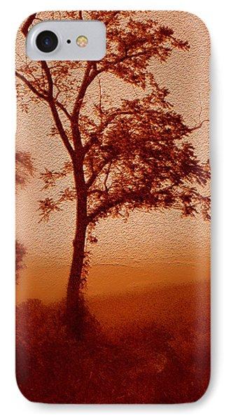 Red Dawn IPhone Case by Linda Sannuti