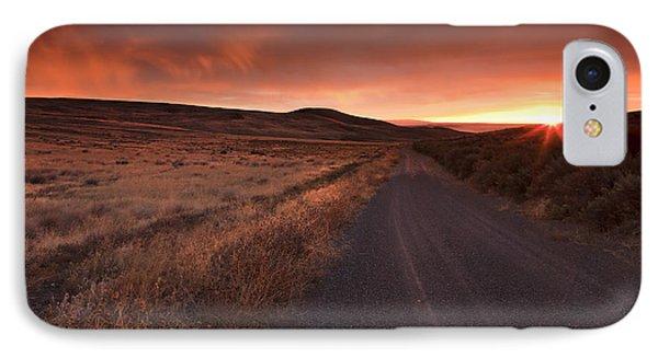Red Dawn IPhone Case by Mike  Dawson