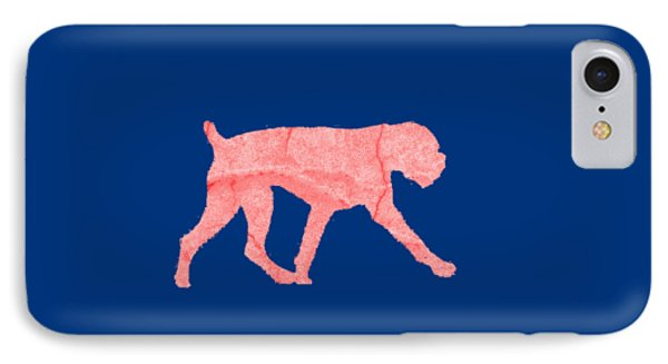 Red Dog Tee IPhone Case