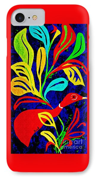 Red Duck IPhone Case