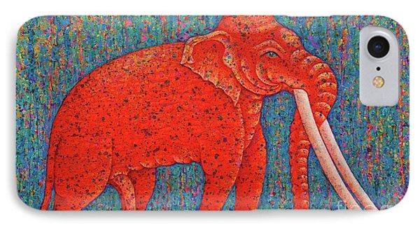Red Elephant  Phone Case by Opas Chotiphantawanon