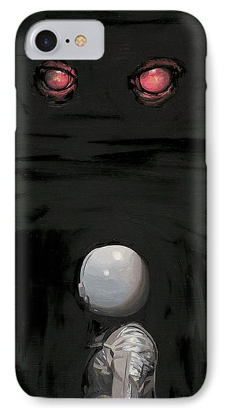 Red Eyes IPhone 7 Case by Scott Listfield