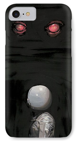 Red Eyes IPhone Case by Scott Listfield