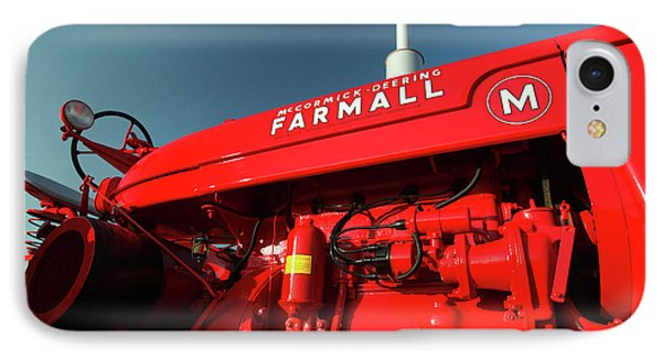 Red Farmall M IPhone Case by Todd Klassy