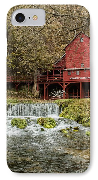 Red Flour Mill IPhone Case by Robert Frederick