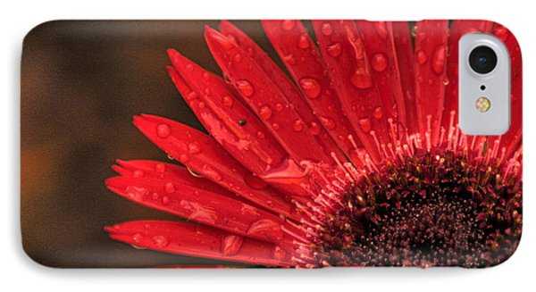 Red Flower 2 Of 2 IPhone Case