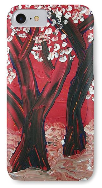 Red Forest IPhone Case by Joshua Redman