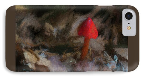 Red Forest Mushroom IPhone Case