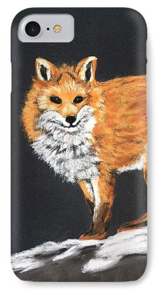 Red Fox IPhone Case by Anastasiya Malakhova