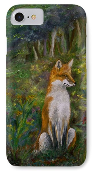 Red Fox IPhone Case by FT McKinstry