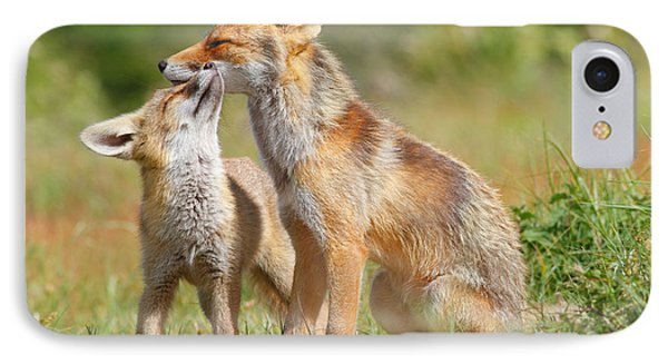 Red Fox Love IPhone Case