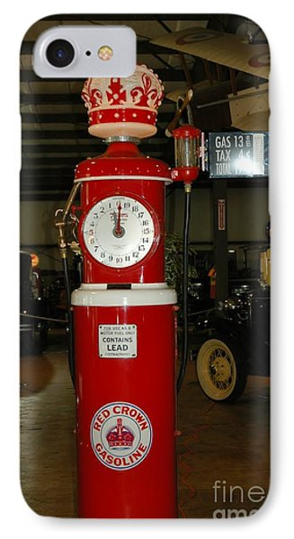 Red Gas Pump Phone Case by Kathleen Struckle