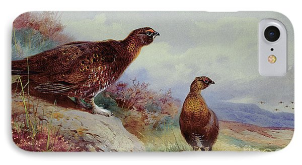 Red Grouse On The Moor, 1917 IPhone 7 Case