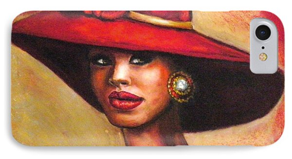 Red Hat IPhone Case by Alga Washington