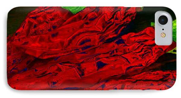 Red Hot Chili 2 IPhone Case by Stephen Anderson