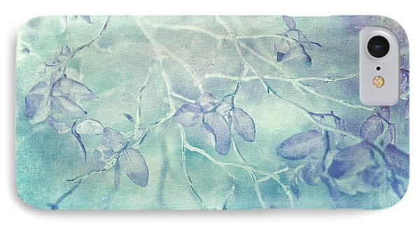 IPhone Case featuring the photograph Red Huckleberry Blues  by Connie Handscomb