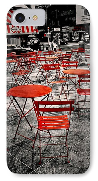 Red In My World - New York City IPhone Case