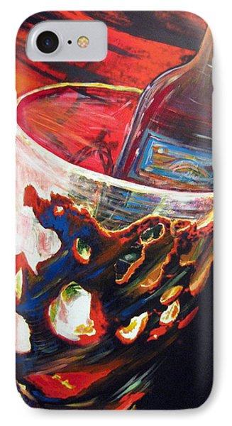 Red IPhone Case by Jan VonBokel