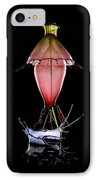 Red Lamp IPhone Case by Jaroslaw Blaminsky