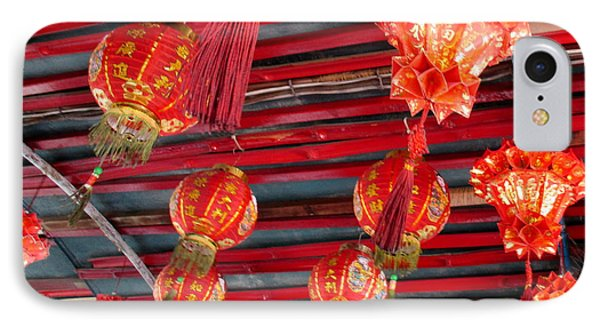 IPhone Case featuring the photograph Red Lanterns 2 by Randall Weidner