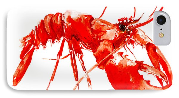 Red Lobster IPhone Case by Suren Nersisyan