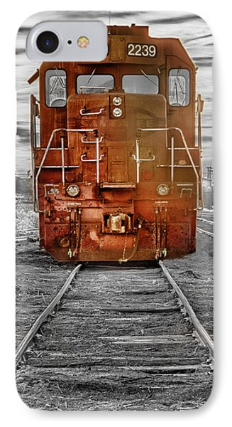 Red Locomotive Phone Case by James BO  Insogna