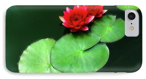Red Lotus IPhone Case