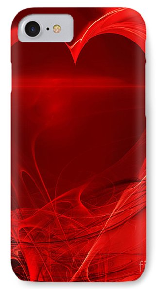 Red Love . A120423.279 IPhone Case by Home Decor