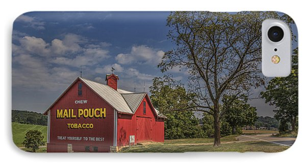 Red Mail Pouch Barn IPhone Case by Wendell Thompson