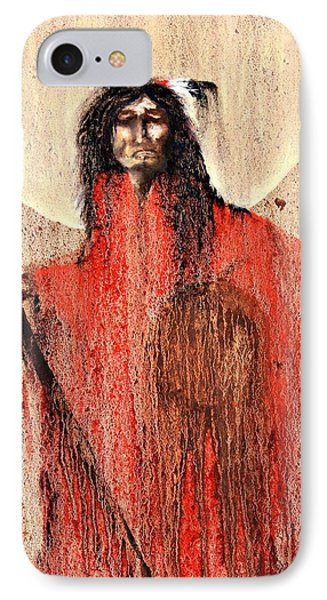Red Man Phone Case by Patrick Trotter