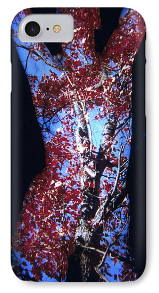 Red Maple Phone Case by Arla Patch