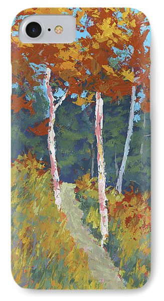 Red Mountain Aspens IPhone Case by David King
