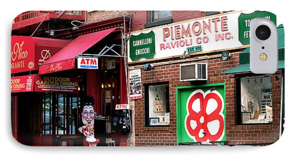 IPhone Case featuring the photograph Red On Mulberry Street by John Rizzuto