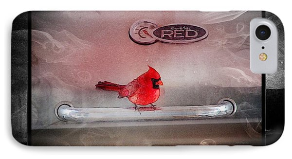 Red On Red Phone Case by Ericamaxine Price