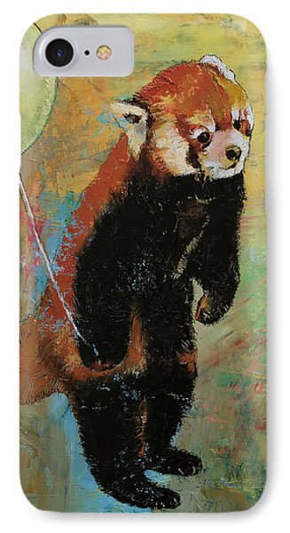 Red Panda Balloon IPhone Case