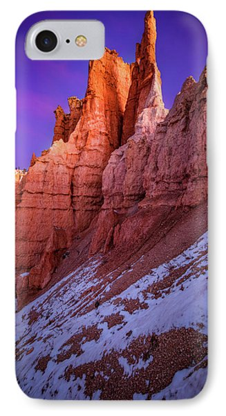 Red Peaks IPhone Case