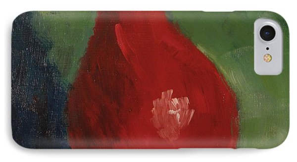 Red Pear IPhone Case by Bill Tomsa