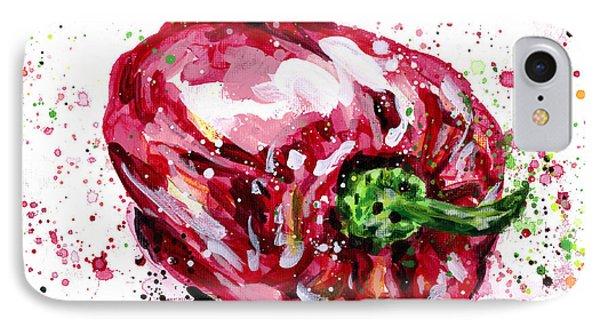 Red Pepper IPhone Case by Arleana Holtzmann