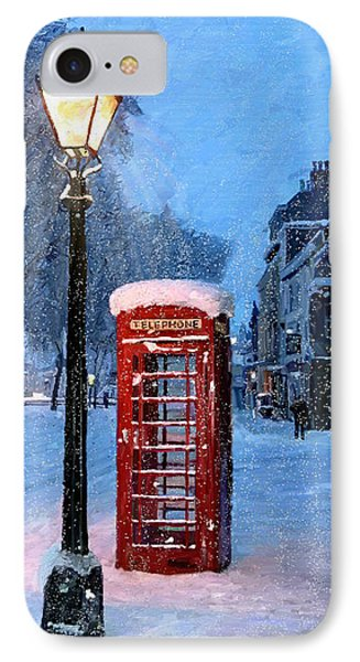 Red Phone Box IPhone Case