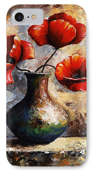 Red Poppies IPhone Case by Emerico Imre Toth