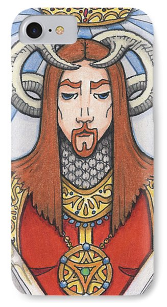 Red Prince Phone Case by Amy S Turner