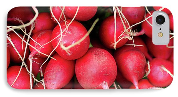 Red Radishes IPhone Case by Todd Klassy