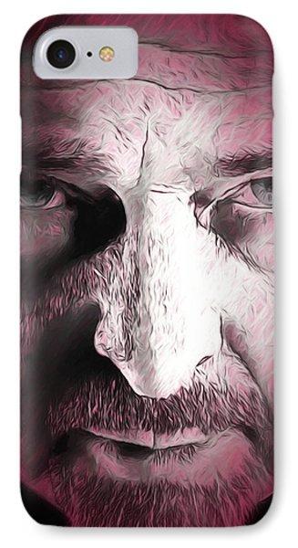 IPhone Case featuring the digital art Red Rain by John Haldane